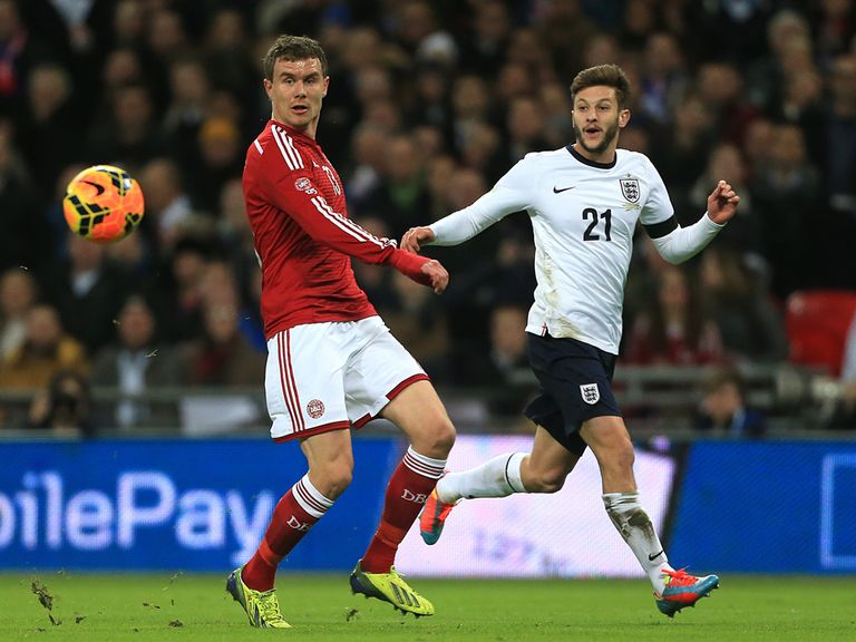 Adam Lallana (r): 6/1 to play against Italy