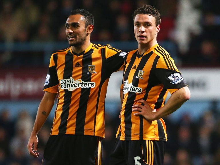 James Chester (right): Loving the Hull 'journey'