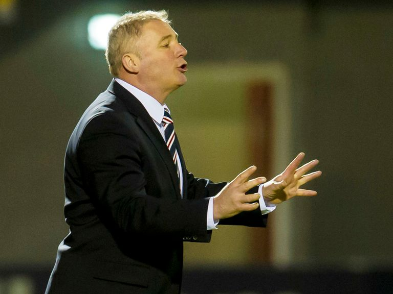 Ally McCoist: Had his say on semi-final ticket allocation