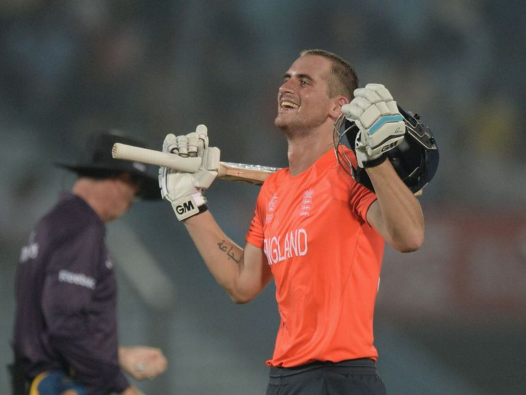 Alex Hales: Moves up the rankings