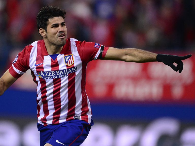 Diego Costa: Key man is an injury doubt for Atletico Madrid