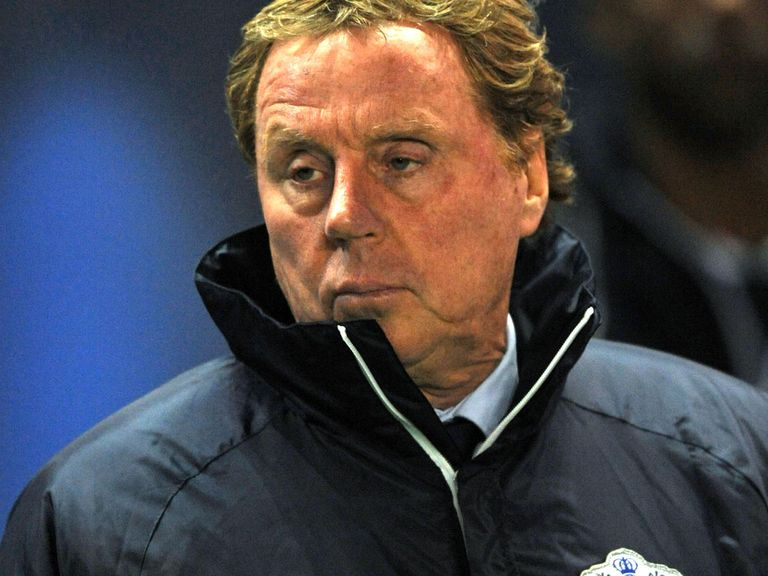Harry Redknapp: QPR chairman backs under-fire boss