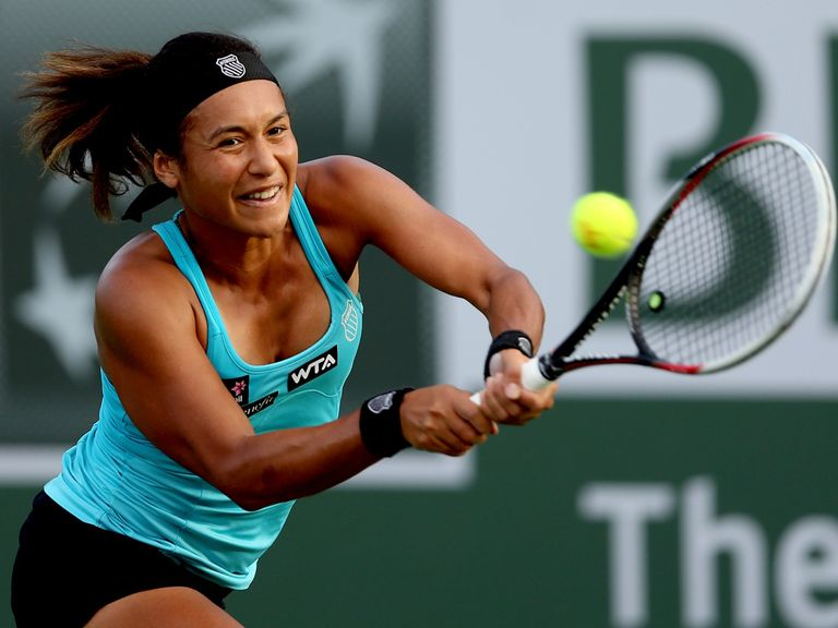 Heather Watson: Has reached the second round in Indian Wells