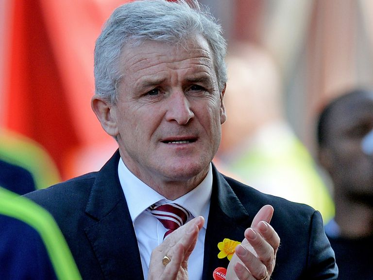 Mark Hughes' Stoke head the Sporting Life Accumulator