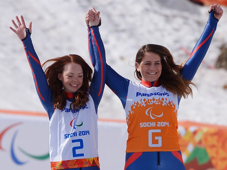 Jade Etherington and Caroline Powell struck silver in Sochi