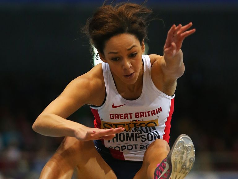 Katarina Johnson-Thompson: Personal best was enough for silver