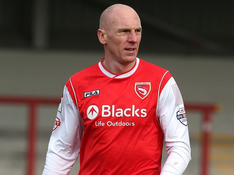 Kevin Ellison: Scored for Morecambe