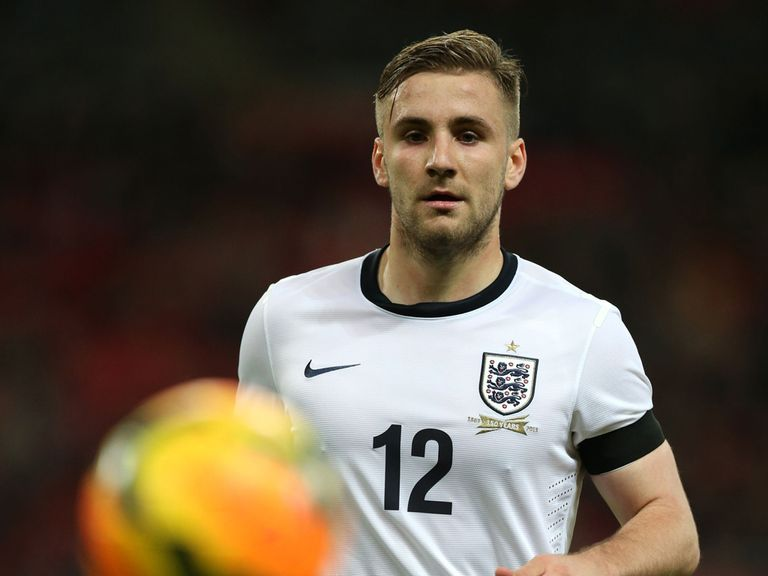 Shaw: Enjoyed every minute of his England debut at Wembley