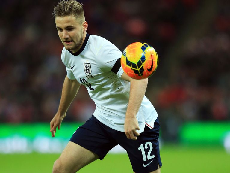 Luke Shaw: Only has one England cap to his name