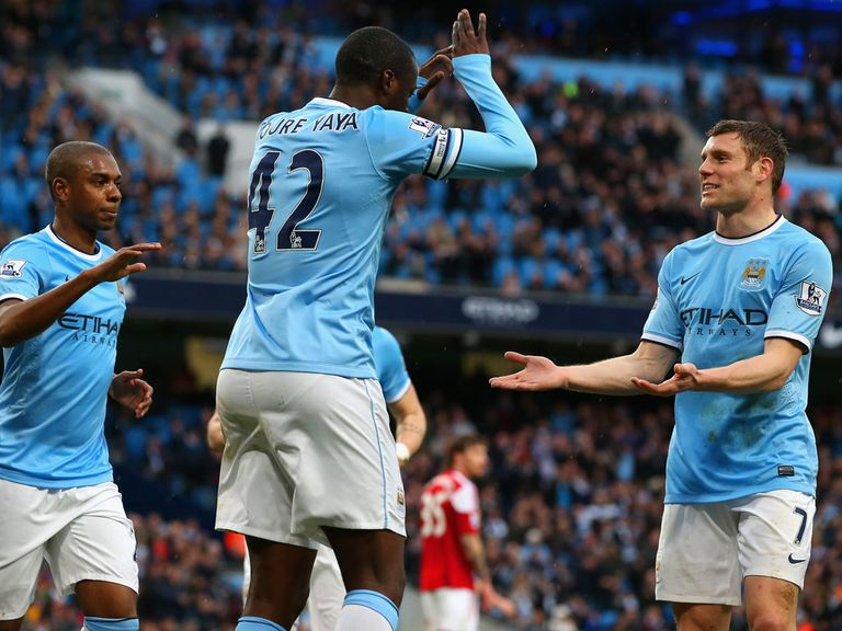 Manchester City should be celebrating again on Saturday