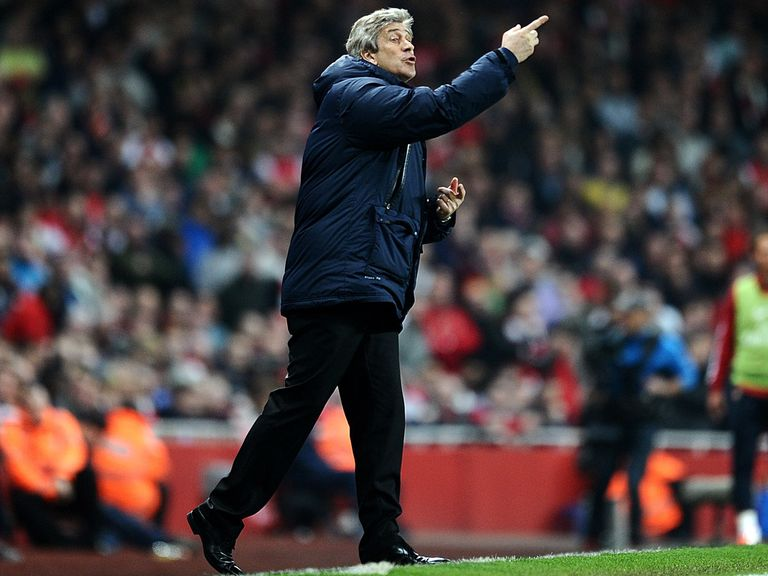 Pellegrini: Expects some offensive fireworks at Anfield