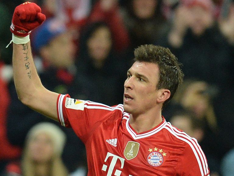 Mario Mandzukic is back to lead Croatia's line