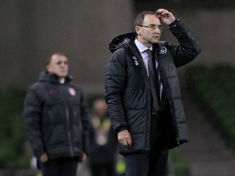 O'Neill: Plenty of his chances for his team to win the game