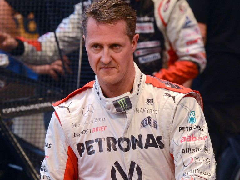 Michael Schumacher: Said to be improving