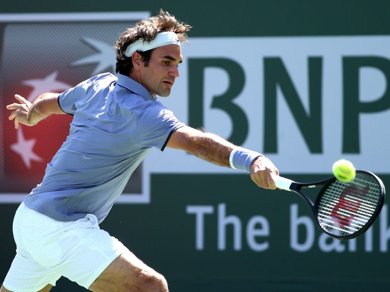 Roger Federer: Had to settle for the runners-up spot in Indian Wells