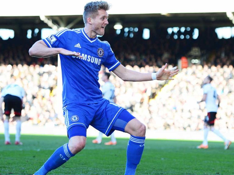 Andre Schurrle: Chelsea midfielder scored a hat-trick against Fulham