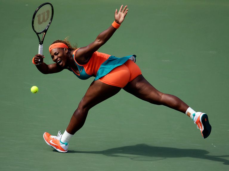 Serena Williams: Easy victory on Monday