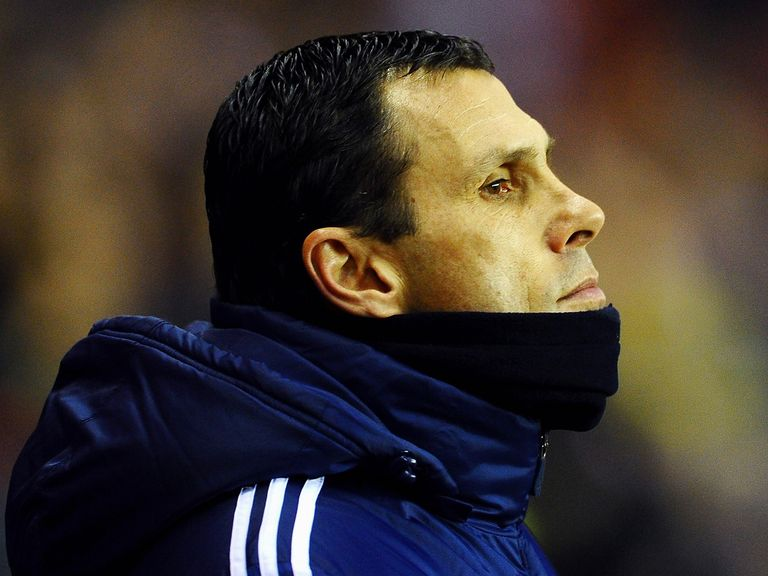 Gus Poyet: Trip to Tottenham on Monday night
