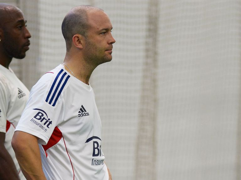 Jonathan Trott: Set to play for Warwickshire in their clash with Gloucestershire