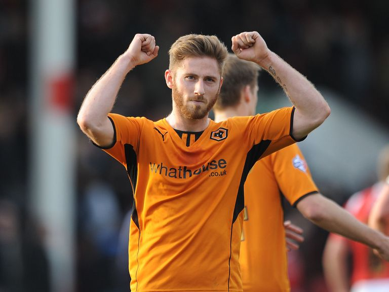Wolverhampton Wanderers' James Henry celebrates