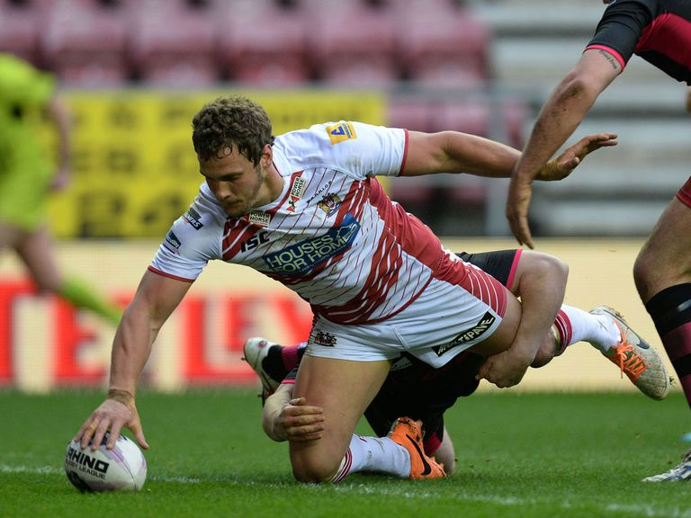 Sean O'Loughlin: Returns for Wigan