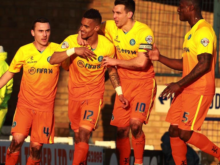 Wycombe held Southend to a 1-1 draw
