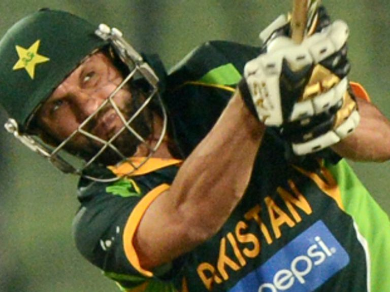 Afridi: Battling an injured hip