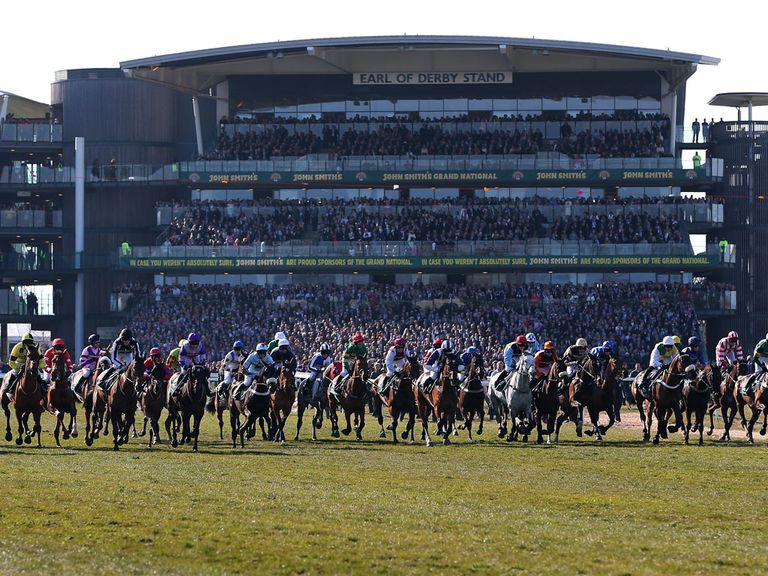 Aintree: Clerk of the course happy with ground but rain forecast