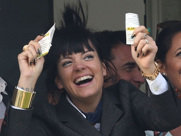 Lily Allen and Steven6177 both cleaned up at Cheltenham