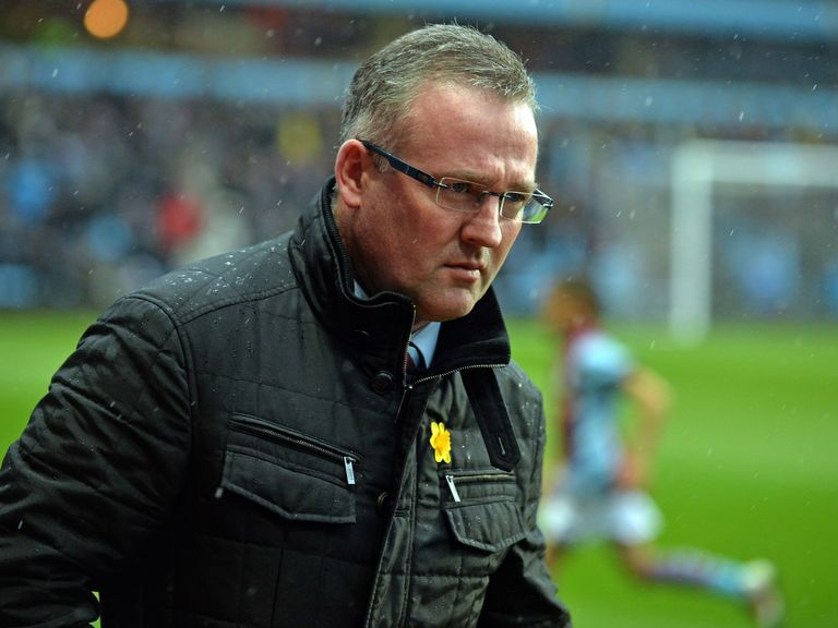 Paul Lambert: Backing for David Moyes