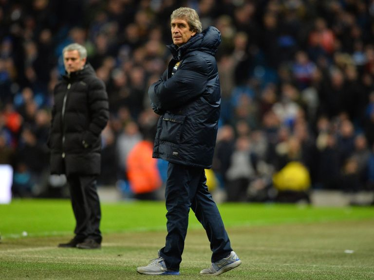 Manuel Pellegrini: Has criticised Chelsea's style of play