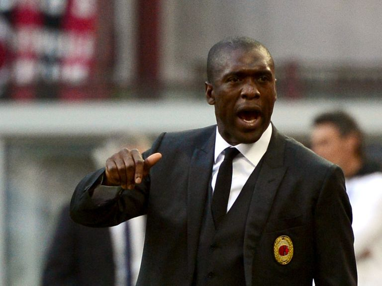 Clarence Seedorf: Sacked by AC Milan