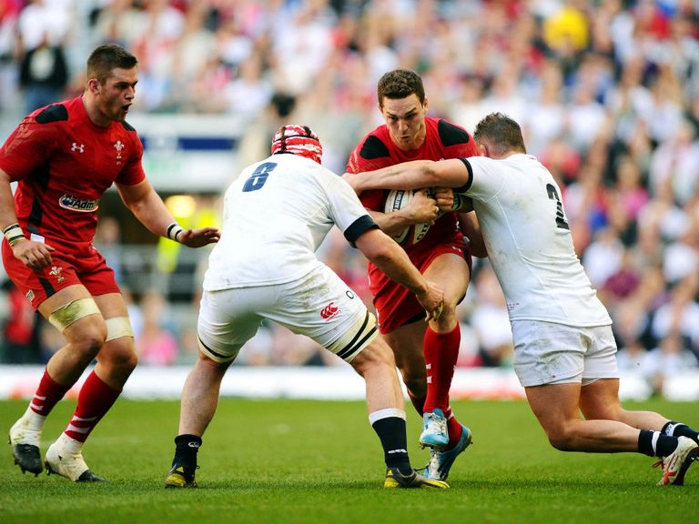 North can't find a way through the England defence at Twickenham