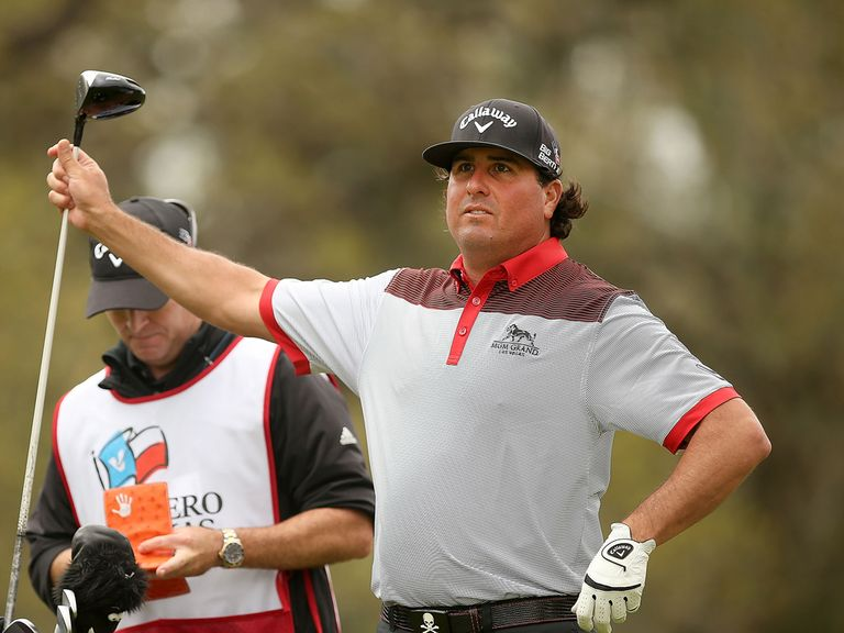 Pat Perez: Shares the lead at the Texas Open