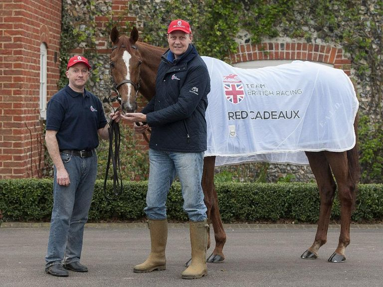 Red Cadeaux: Should go well at Newbury