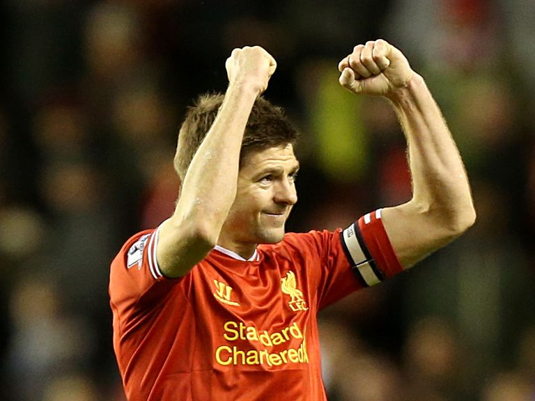 Steven Gerrard: Helped Liverpool win for the seventh successive game