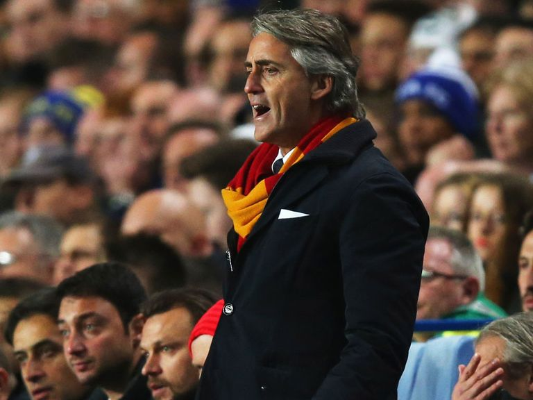 Roberto Mancini: No longer Galatasaray manager