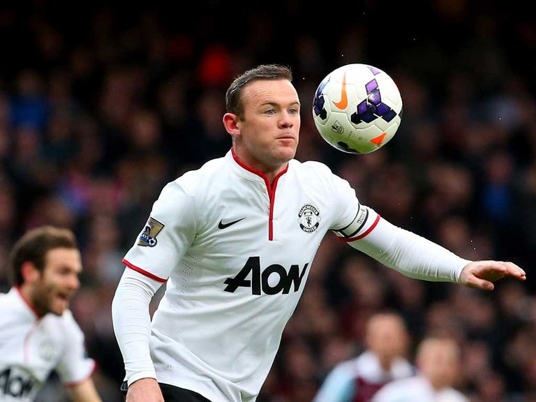 Wayne Rooney: Impressed David Moyes with leadership