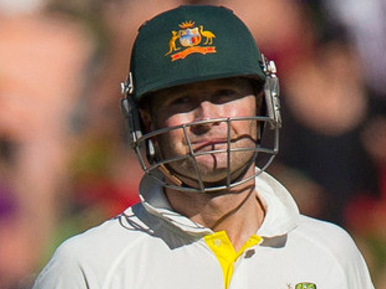 Michael Clarke: Has a fractured shoulder