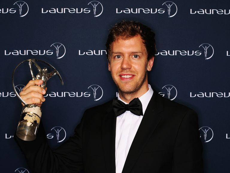 Sebastian Vettel: Winner of the Laureus World Sportsman of the Year award