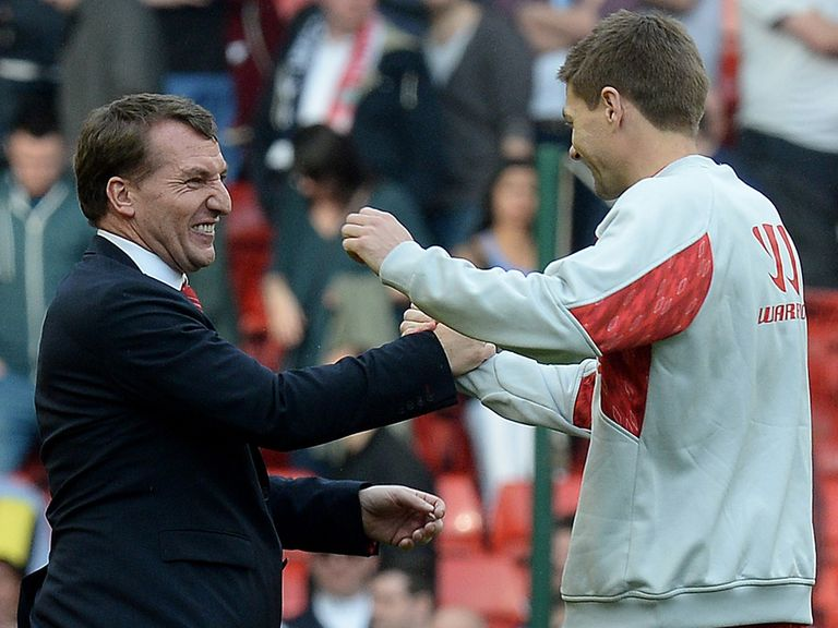 Rodgers and Gerrard: At the heart of Liverpool's title surge