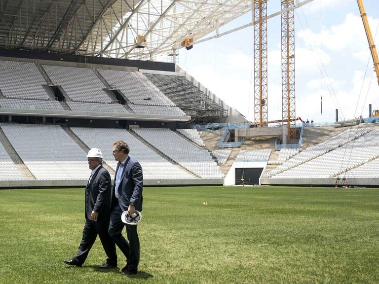 Jerome Valcke: Last-minute race to finish the stadium