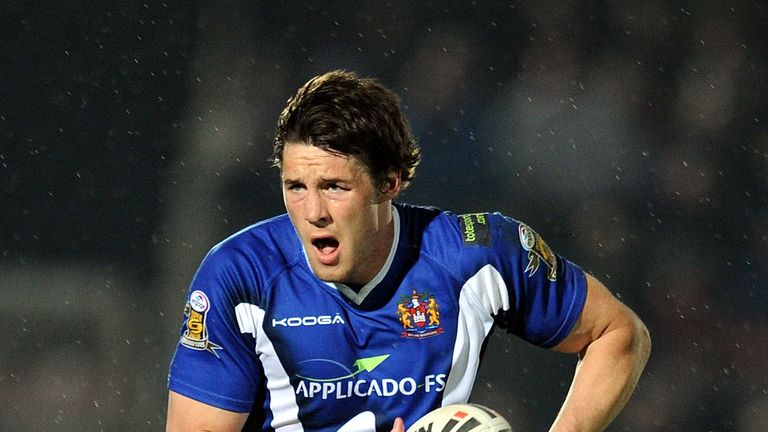Joel Tomkins: Linked with a return to league with Salford Red Devils