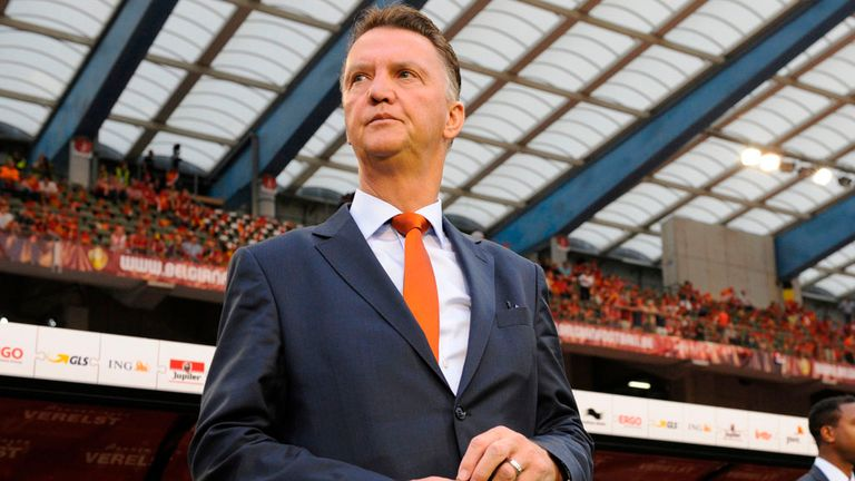 Louis van Gaal: Tipped as a leading candidate to become the next permanent manager at Old Trafford