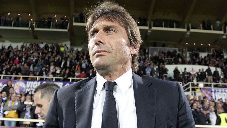 Antonio Conte: Set to be unveiled as Italy boss