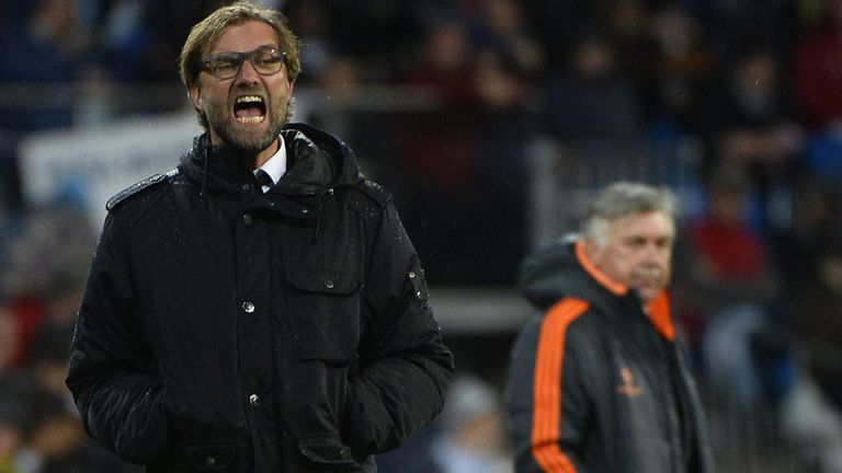 Jurgen Klopp: Watches Dortmund surrender at Real Madrid