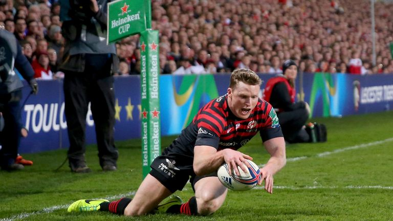Chris Ashton: Scoring against Ulster