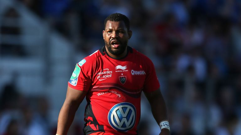 Steffon Armitage: The Toulon flanker held talks with England boss Stuart Lancaster