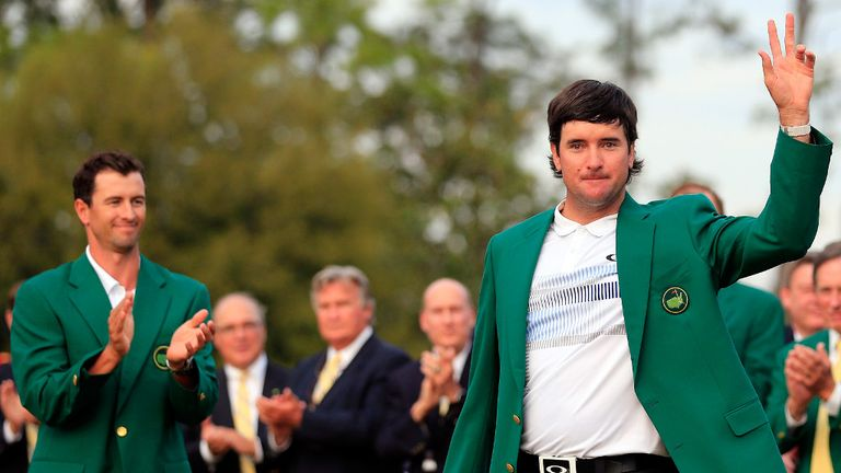 Bubba Watson: Winner of two green jackets in three years