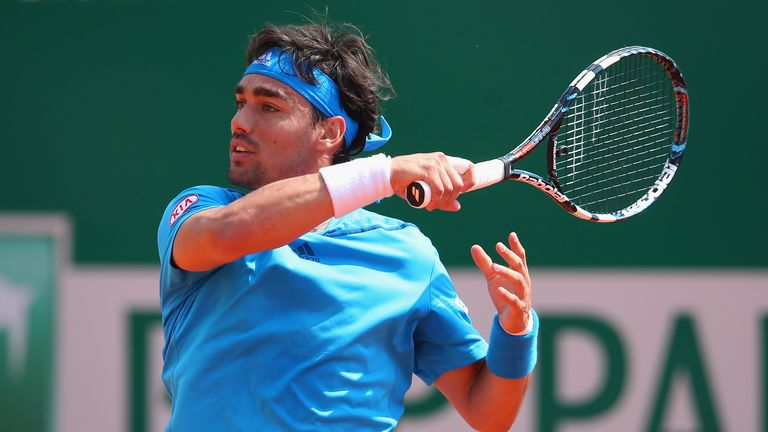 Fabio Fognini: Was two points away from losing to Joao Sousa before sealing a three-set victory